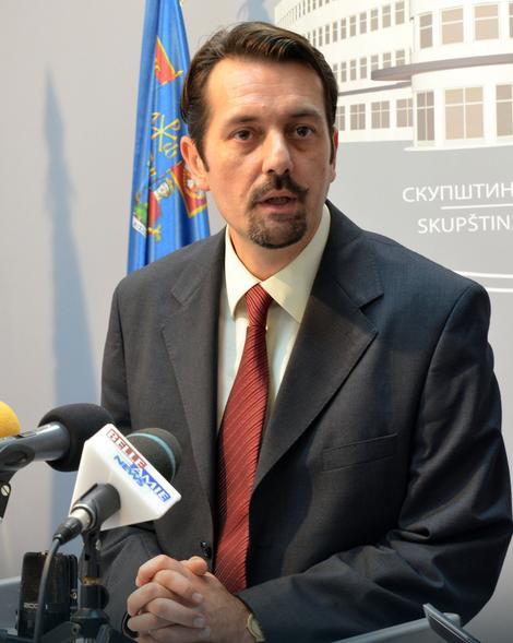 Predsednik opštine Niška Banja Dejan Jovanović