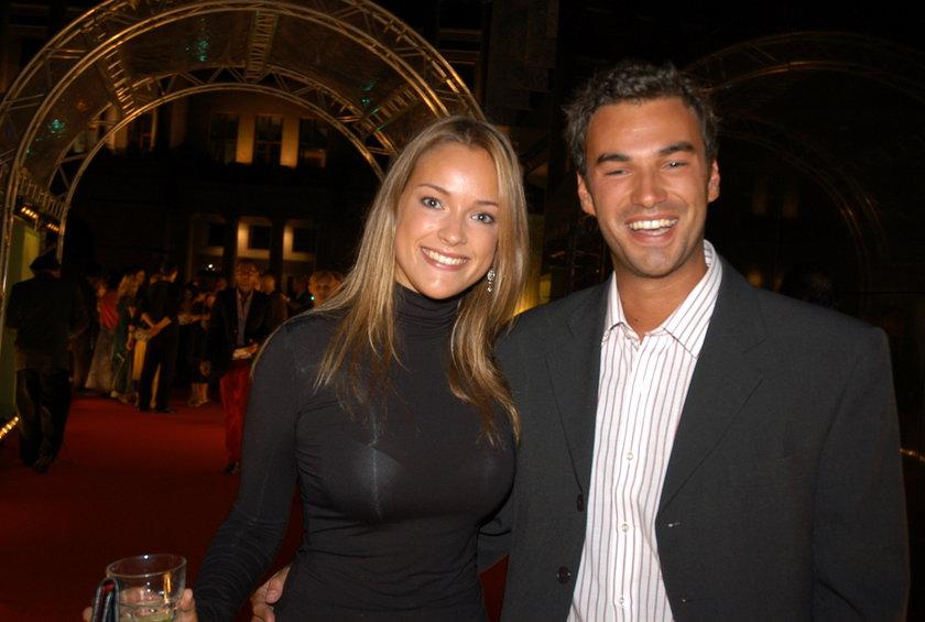 Alicja Bachleda-Curuś z bratem