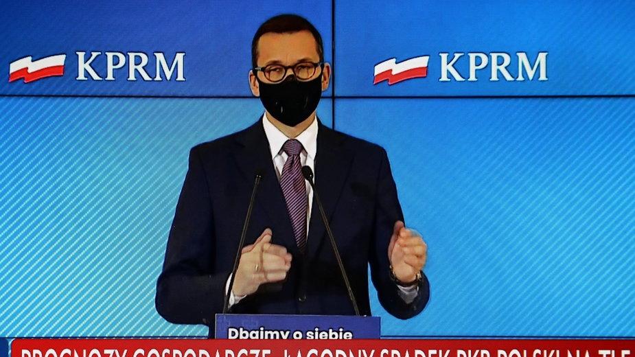 Konferencja premiera Mateusza Morawieckiego: Kiedy? Czy znamy termin?