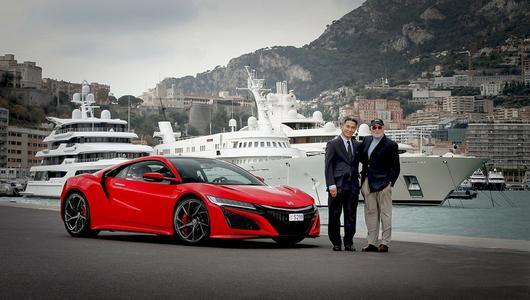 Pierwsza nowa Honda NSX dotarła do Europy