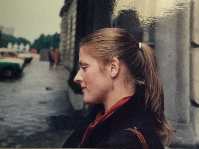 Krystyna Pawłowicz w młodości
