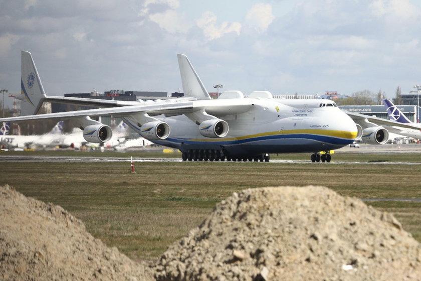 Antonov An-225 Mrija w Warszawie