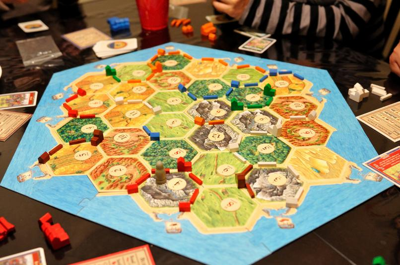 Coloniștii din Catan (foto: Michael Saechang, via flickr.com)