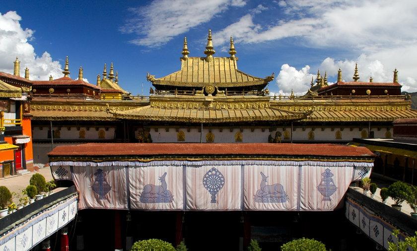 zabytki Tybetu