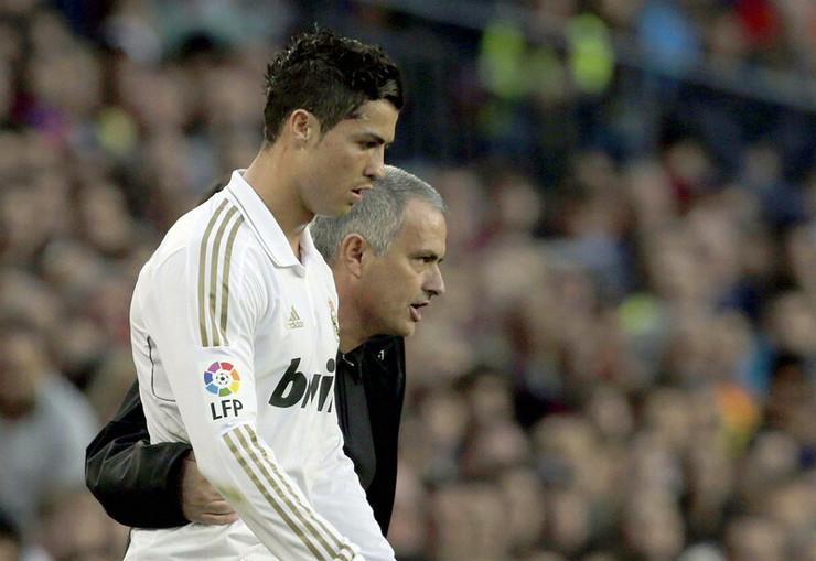 Kristijano Ronaldo i Žoze Murinjo