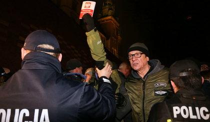 Maleńczuk blokował wjazd Kaczyńskiego na Wawel