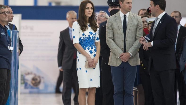 Książęca para pojawiła się wczoraj w Luton...