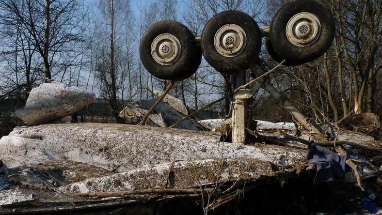 Szczątki tupolewa i odzież ofiar katastrofy smoleńskiej u mieszkańca Smoleńska?