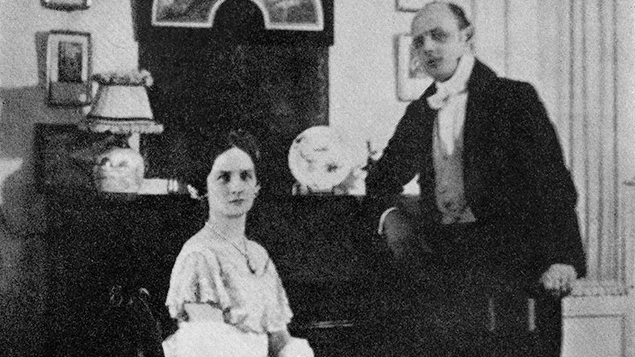 Dorothy i Jan przed balem w ambasadzie brytyjskiej, Warszawa