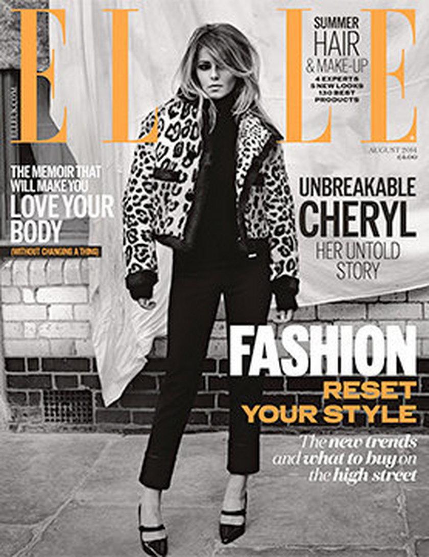"""Cheryl Cole dla brytyjskiego 'Elle"""""""