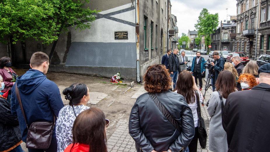 Uroczystości upamiętnienia 79 rocznicy likwidacji getta w Pabianicach (2021r)