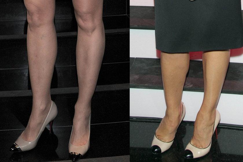 Takie same buty Anny Popek i Agaty Młynarskiej