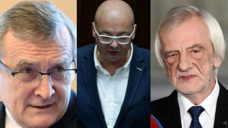 Piotr Gliński, Michał Kamiński i Ryszard Terlecki