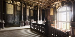 Polski opuszczony pałac zachwyca świat