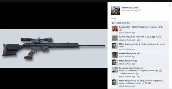Sugestivno: Savićev post na Fejsbuku