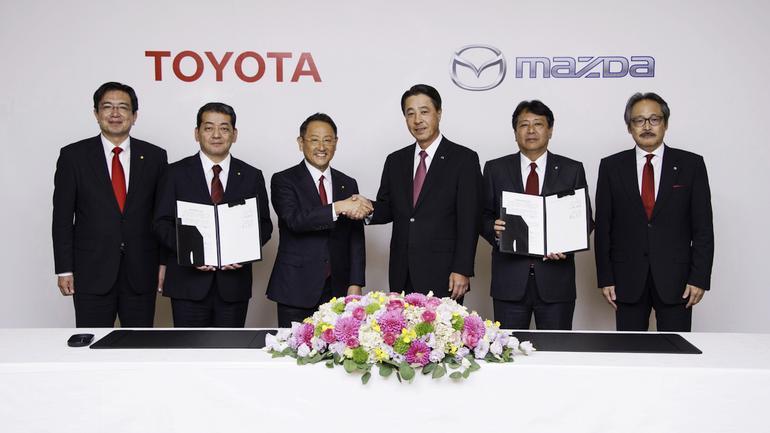 Toyota i Mazda zacieśniają współpracę