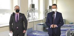 Premier i minister zdrowia w Radomiu: takiej liczby hospitalizacji nie było od początku pandemii