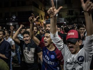 Anti-government protest in Cairo