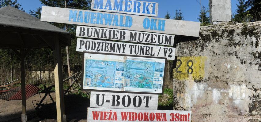 Tajemnicze tunele na Mazurach. To tam ukryto Bursztynową Komnatę