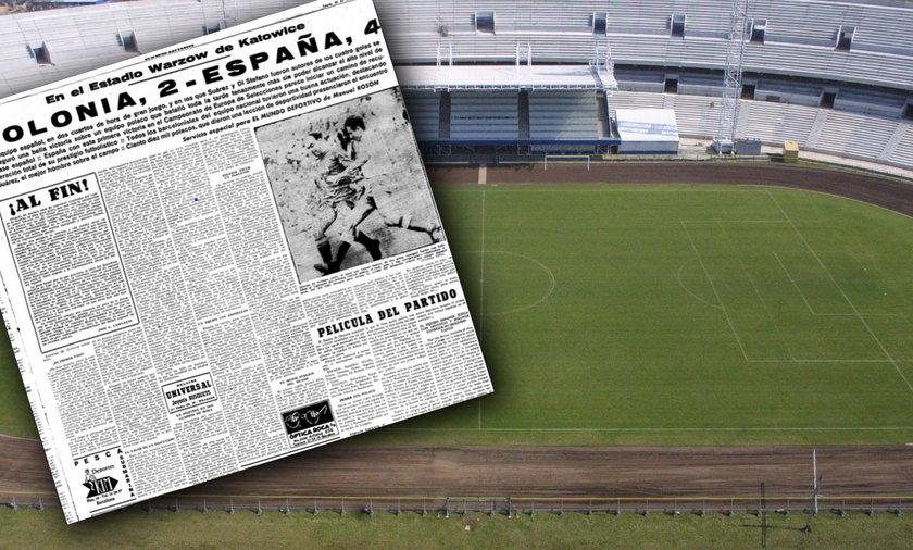 Hiszpanie rozbili Polskę na Stadionie Śląskim, ale później oddali walkowerem walkę o mistrzostwo Europy
