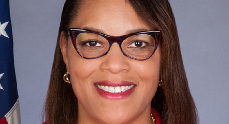 US Ambassador to Uganda Natalie E Brown