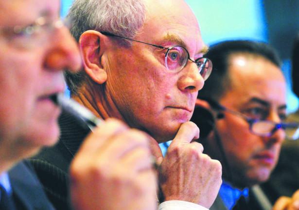 Przewodniczący Rady Europejskiej Herman Van Rompuy nie ma wyjścia – musi pójść na ustępstwa Reuters/Forum