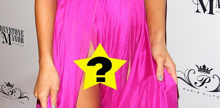 Paris Hilton znowu bez majtek!
