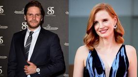 """""""Azyl"""": Daniel Brühl i Jessica Chastain na specjalnym pokazie filmu w Polsce"""