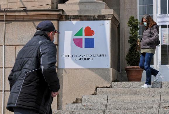 Kragujevac Institut za javno zdravlje Kragujevac