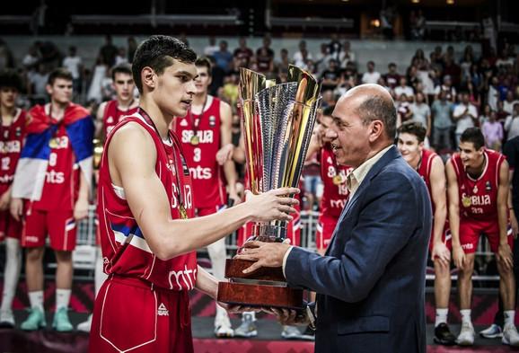 Dalibor Ilić, kapiten juniorske košarkaške rerpezentacije Srbije