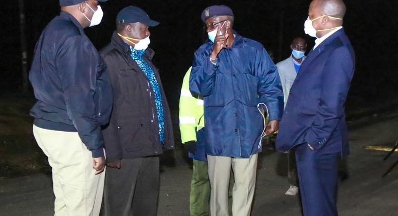 Kenyans going out to the public without masks to be arrested - Inspector General Hillary Mutyambai