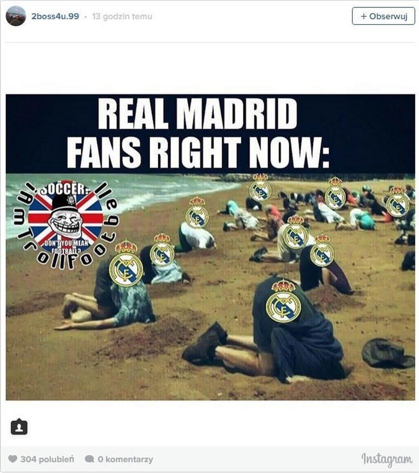 Real Madryt na kolanach. Memy po porażce z VfL Wolfsburg! GALERIA