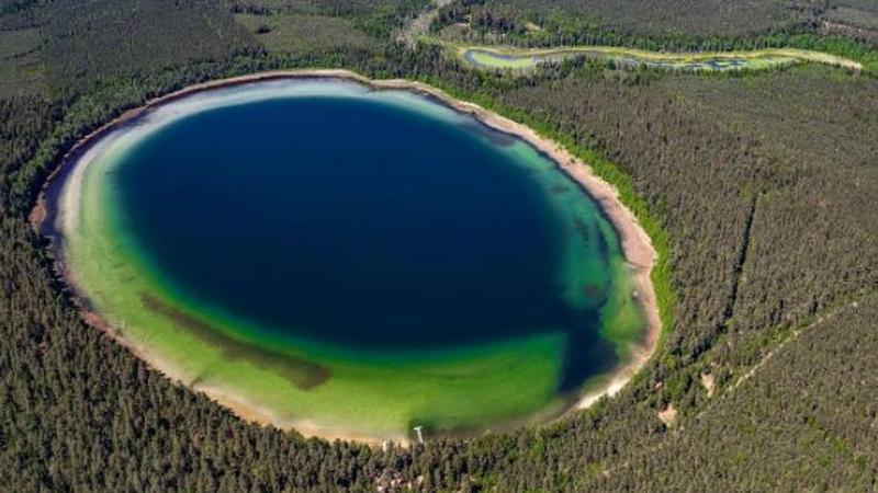 Lokalna egzotyka: Jezioro Płaskie i Jezioro Krejwelanek