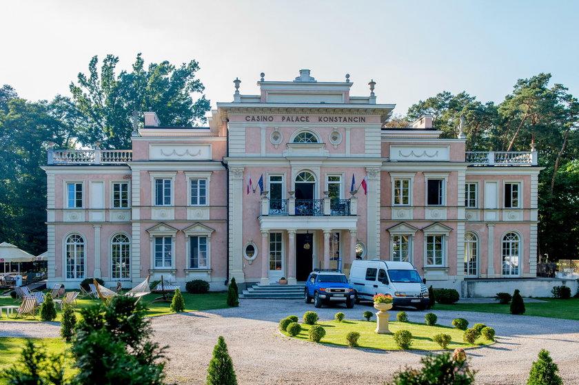 Pałac w Parku Zdrojowym Konstancin