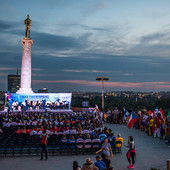 SPORTOVI POD VODOM Spektakulrana ceremonija otvaranja prvenstva sveta na Kalemegdanskoj tvrđavi /FOTO/