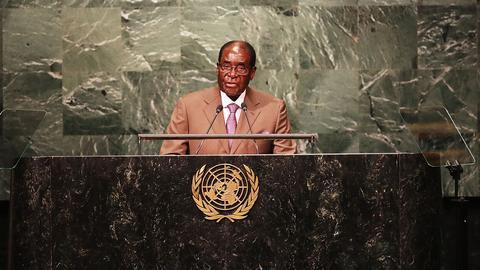 Robert Mugabe, prezydent Zimbabwe