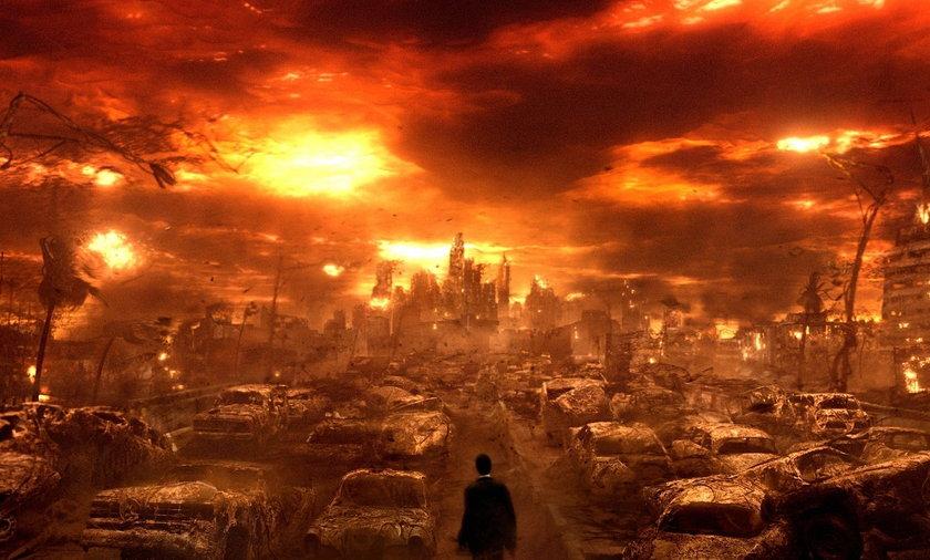 wizja końca świata z filmu Pojutrze