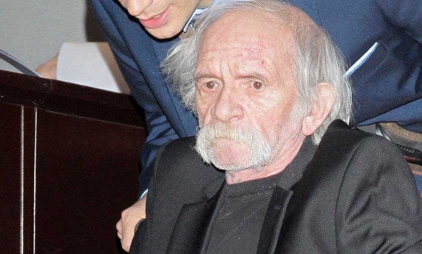 Bohdan Smoleń czuje się lepiej. Wyszedł ze szpitala