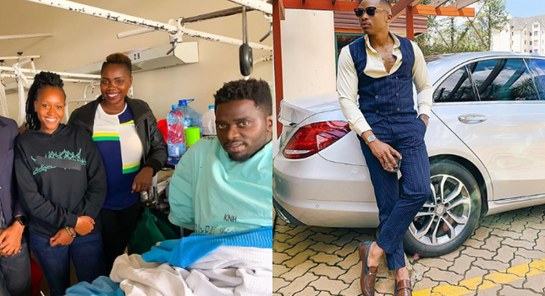 Otile Brown buys new Motorbike for the rider he was involved in an accident with near Yaya Centre