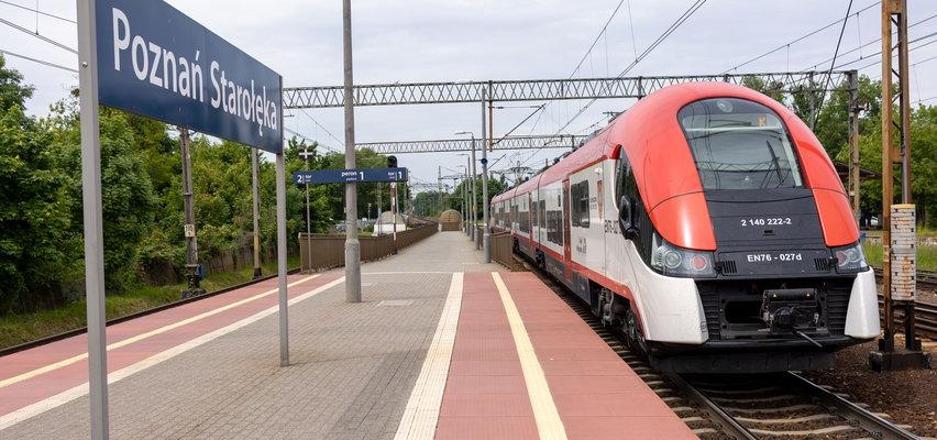Starołęka bez tramwajów. Jedź pociągiem z nowym biletem!
