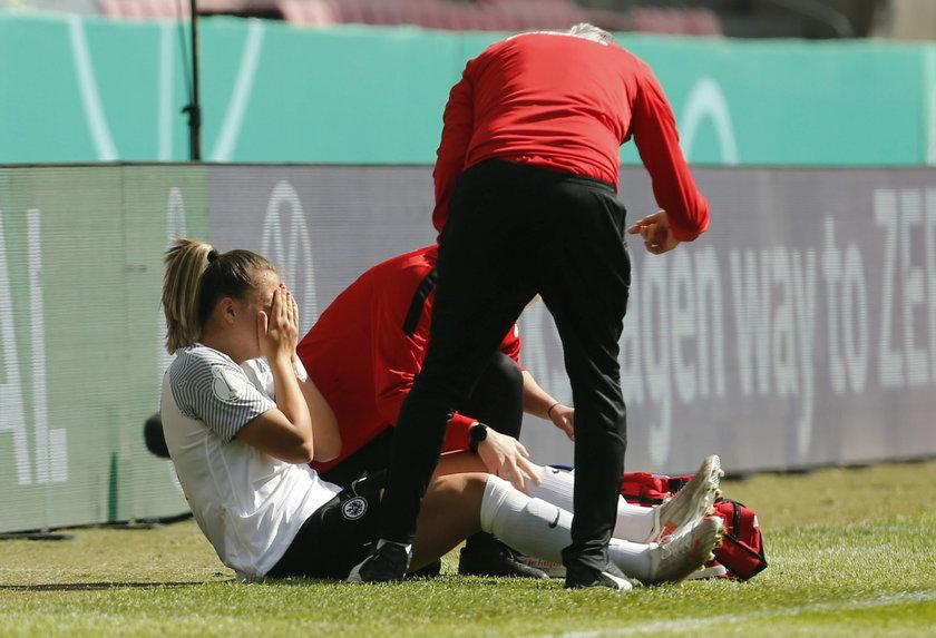 Poczeka na wymarzony debiutZawodniczka Eintrachtu cieszyła się na myśl o grze w biało-czerwonych barwach, ale na tę chwilę musi jeszcze poczekać.