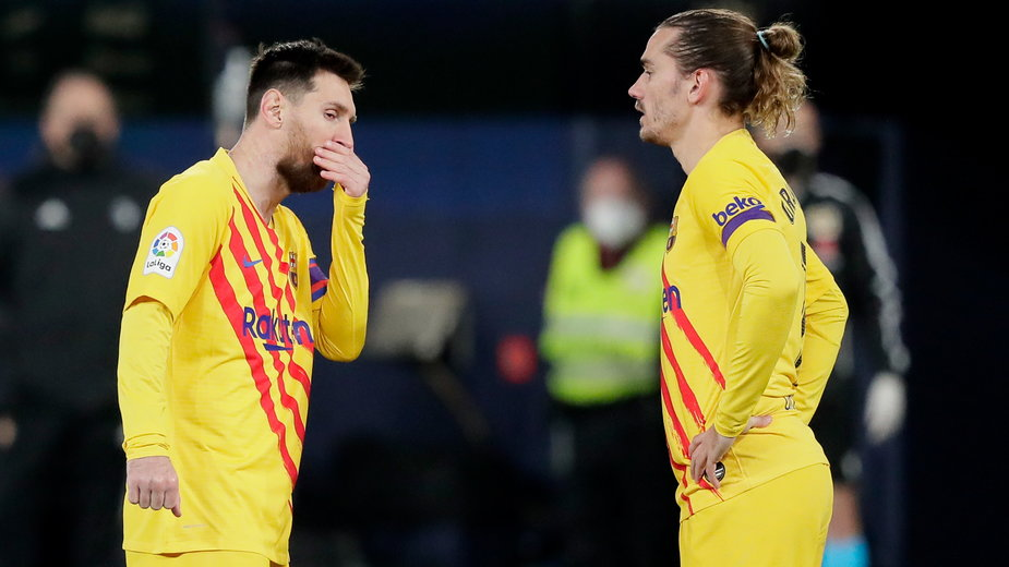 Lionel Messi i Antoine Griezmann