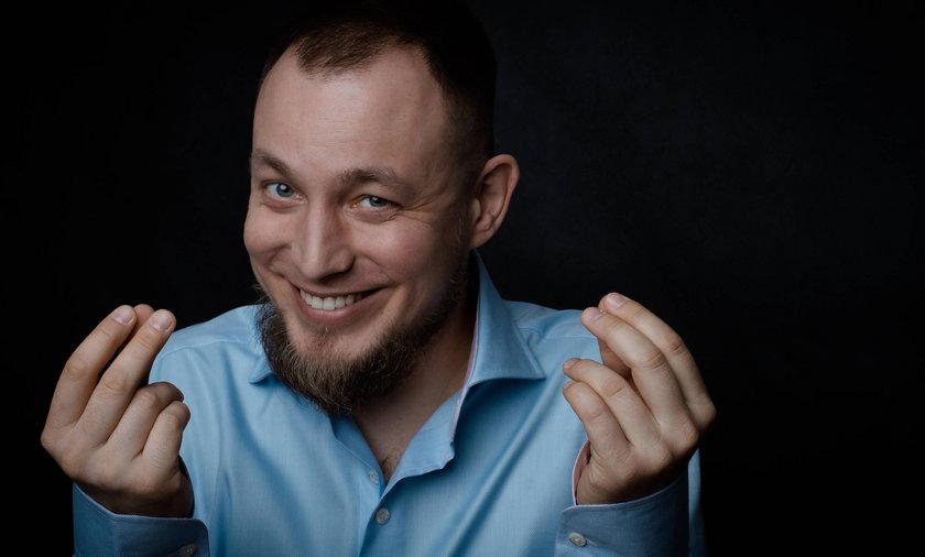 """Marcin """"Duże Pe"""" Matuszewski to człowiek wielu pasji"""