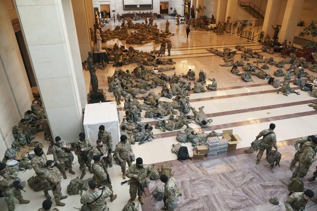 Nacionalna garda, Kapitol, Kongres, SAD