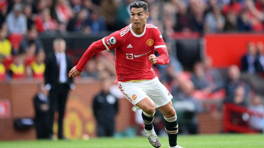 Cristiano Ronaldo w barwach Manchesteru United