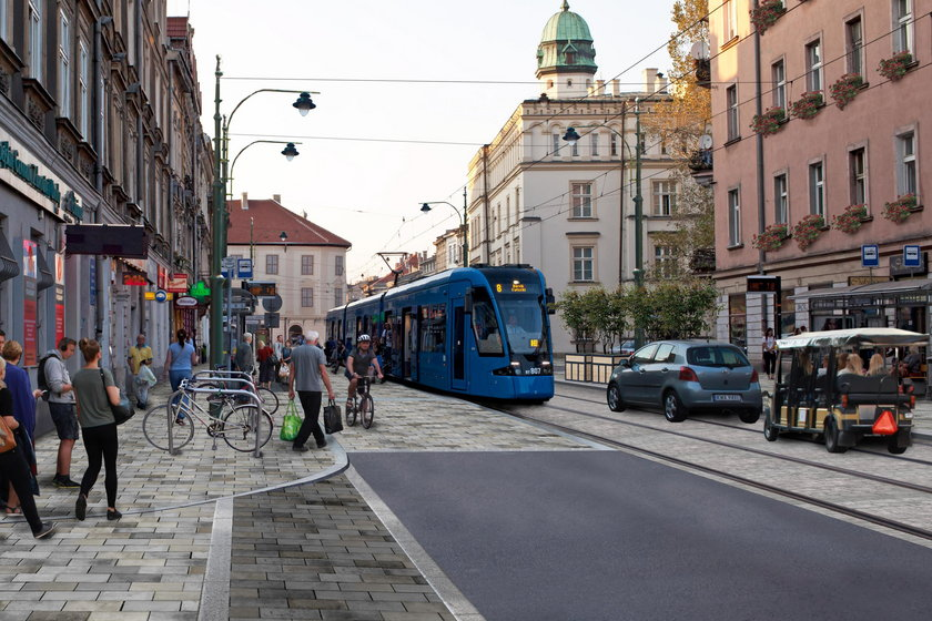 Tak ma wyglądać ulica Krakowska na Kazimierzu