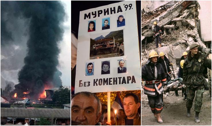 crna gora bombardovanje kombo
