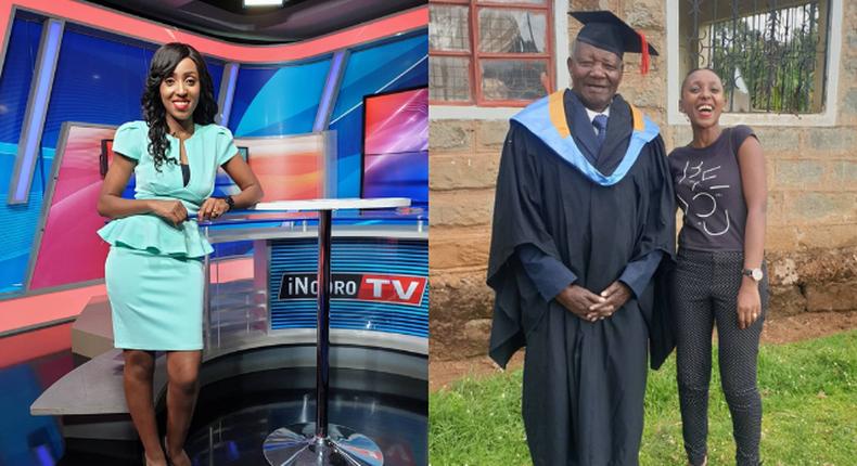 Inooro TV News anchor Wangechi Wa Muriuki
