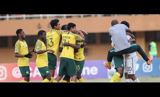 South Africa grab bronze at 2019 U20 AFCON after beating Nigeria on penalties.  (CAF)