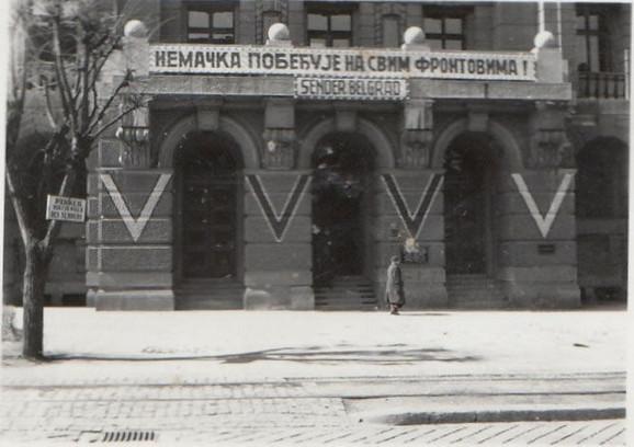 Radio Beograd 1941.